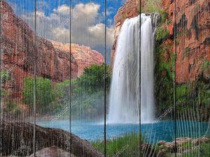 ошеломляющий водопад