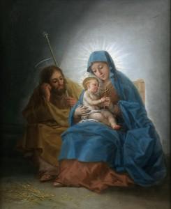 Франсиско Гойя. Святое семейство, 1787